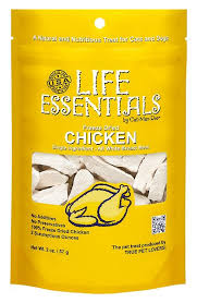 <b>Life Essentials</b> Chicken <b>Freeze</b>-<b>Dried</b> Cat & Dog Treats, 2-oz bag ...