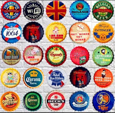35cm Vintage <b>Metal</b> Iron Round coke for drinking beer bottle cap ...