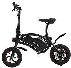 : ANCHEER <b>Folding</b> Electric Bicycle E-Bike Scooter 350W Powerful ...