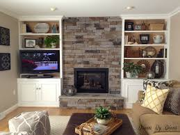 Living Room With Bookcase 17 Best Ideas About Shelves Around Fireplace On Pinterest