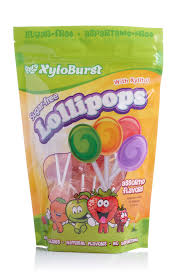 XyloBurst <b>Sugar</b>-<b>free Lollipops with Xylitol</b> – Assorted Flavors 50 ...
