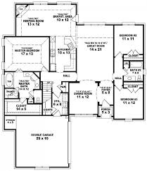 Bedroom House Floor Plan Home Design Ideas - Two bedroomed house plans