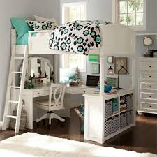 f astounding space saving white wooden loft bed with study desk and dressing table underneath for teenage girls bedroom makeover ideas 1000x1000 bed girls teenage bedroom