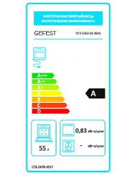 ПГЭ <b>5502-02</b> 0045 Газоэлектрическая <b>плита GEFEST</b> купить в ...