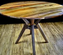 walnut cherry dining: custom made dining table atlas  inch round table solid cherry top solid