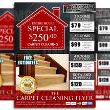 carpet cleaning flyer design brads carpets product 5