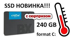 """<b>SSD</b> диск <b>Crucial</b> 2.5"""" <b>BX500</b> 240 Gb SATA III 3D NAND ..."""