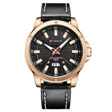 CURREN 8376 Black Stainless Steel Watches Sale, Price ...