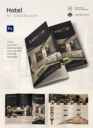 14 popular psd hotel brochure templates premium templates modern a3 tri fold brochure template