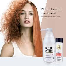 <b>PURC Brazilian keratin</b> 12% <b>formalin</b> 300ml keratin treatment and ...