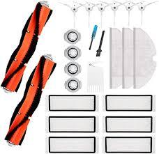 Amyehouse Replacement Parts Kit <b>Main Brush</b> Side Brushes <b>Filters</b> ...
