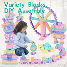 400Pcs DIY Bricks Toys <b>Large</b> Blocks <b>Assembled Plastic Large</b> ...
