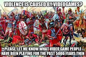 To those who blame video games… | Video Games, Videogames and Blame via Relatably.com