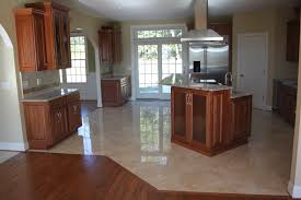Hardwood Or Tile In Kitchen Kitchen Flooring Ideas Mybktouch Regarding Kitchen Tile Floor