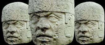 Image result for olemic heads and ancient mexican images
