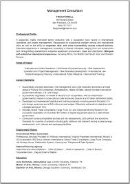 management consultant resume template great resume templates click on image to enlarge