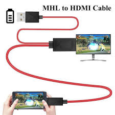 EastVita MHL to HDMI 11pin <b>Micro USB</b> To HDMI 1080P HD TV ...