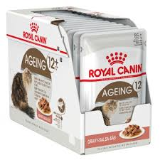 <b>Royal Canin Ageing 12</b> Years in Gravy Cat food
