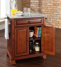 Portable Kitchen Island With Granite Top Buy Newport Solid Granite Top Portable Kitchen Island