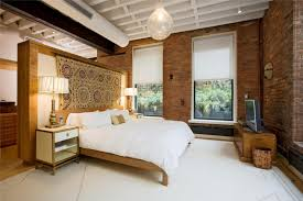 simple loft bed furniture design with comfy white bedding a pair of bedside tables with drawer bedroom loft furniture