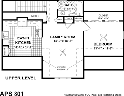 Cottage Style House Plans   Plan   Upper Second Floor Plan
