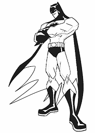 Small Picture Batman Cartoon Coloring Pages Coloring Pages Online