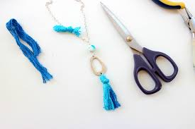 tutorial pandahall beads jewelry blog step 5 i love to have small details on my jewelry so a tiny turquoise sparkle on the chain will make it even more cute just use a small scrap from the