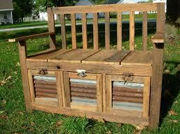 patio seat diy bench