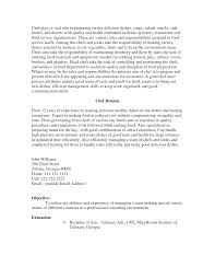 examples of chef resume template professional for efficient cover letter examples of chef resume template professional for efficient management skills to keep work organizedpastry