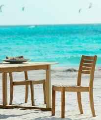 Chelsea <b>stacking garden chair</b> in teak - Unopiù