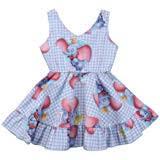 lzjlsqhyh <b>Summer Baby Girls</b> Elephant Star Printed Dress <b>Children</b>