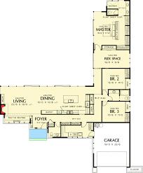 Long  amp  Low California Ranch   AM   st Floor Master Suite    Floor Plan