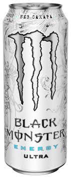 Купить <b>Энергетический напиток</b> Monster Energy <b>Black</b> Ultra, 0.5 л ...