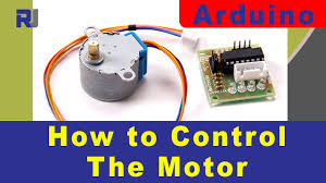 Control Stepper motor 28BYJ-48 with ULN2003 for Arduino - YouTube