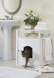 bathroom box amazoncom merry pet cat washroom night stand pet house cat houses and condos pet supplies