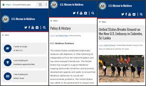 u s embassy in sri lanka u s embassy launches new website for