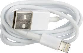 Кабель <b>Ritmix RCC</b>-<b>120</b> Lightning 8pin-USB, 1 м, white — купить в ...