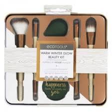 <b>Набор</b> кистей для <b>макияжа</b> Ecotools <b>Warm</b> Winter Glow Beauty <b>Kit</b> ...