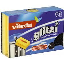 <b>Губка</b> для кастрюль <b>Vileda</b> Glitzi Crystal 111425, 2 шт, <b>Виледа</b> ...
