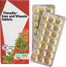 <b>Floradix</b>® <b>Iron</b> and Vitamin <b>Tablets</b> - <b>Floradix</b>