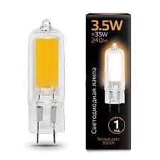 <b>Лампа</b> cветодиодная G4 3.5W 3000K колба прозрачная <b>107807103</b>
