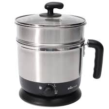 Bear 2L Stainless Steel Hot Pot <b>Multi Function</b> Electric Food ...