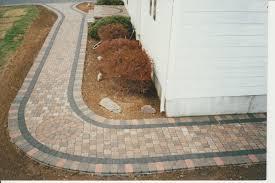 decoration pavers patio beauteous paver: pavers  winding paver walkway pavers