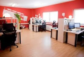 paint colors for office space. red office a step too far paint colors for space i