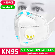 [<b>20pcs</b>] <b>KN95</b> Anti Virus Mouth Mask Respirator Protection Flu Facial ...