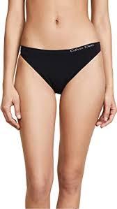 Calvin Klein Women's Pure Seamless Thong Panty ... - Amazon.com