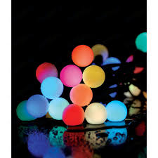 <b>Гирлянда светодиодная Light Fiesta</b> big ball RGB 75 led, 220V ...