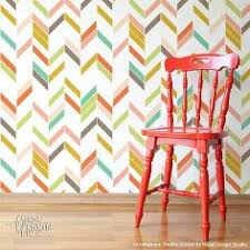 painting chevron and herringbone patterns the easy way with stencils painted furniture stenciled herringbone chevron painted furniture