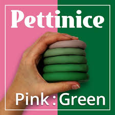 What happens when you mix pink and green - Pettinice