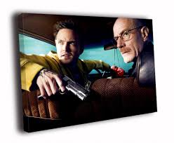 tv paint promotion shop for promotional tv paint on com breaking bad car gun bryan cranston aaron paul tv series art solid wood canvas frameless paints txhome d6046